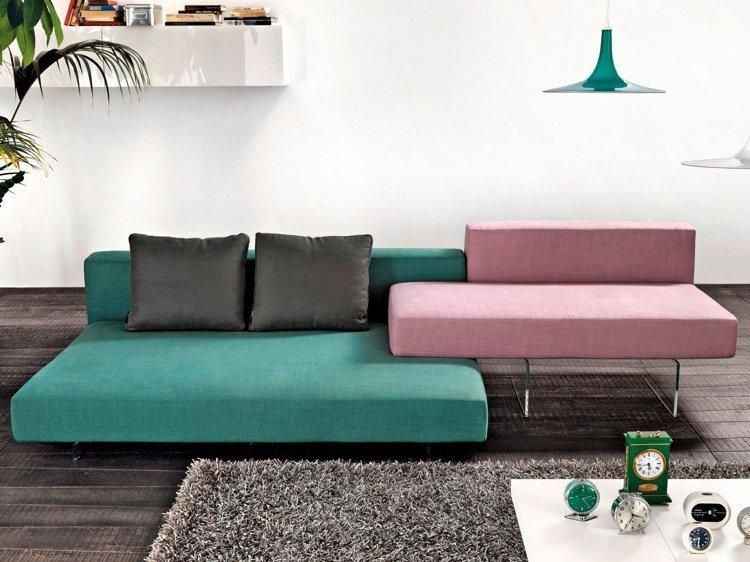 diseno sofa Aire dos colores