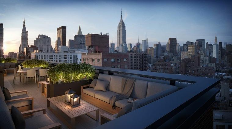 diseno terraza moderna distintos epacios descanso ideas