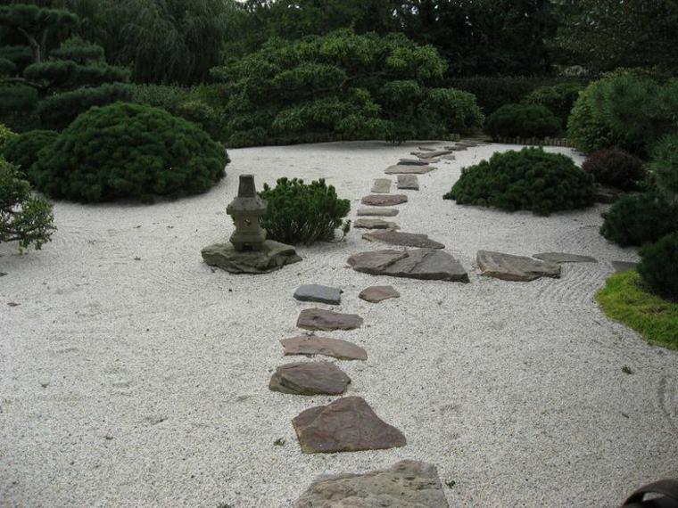 diseno original camino piedras zen