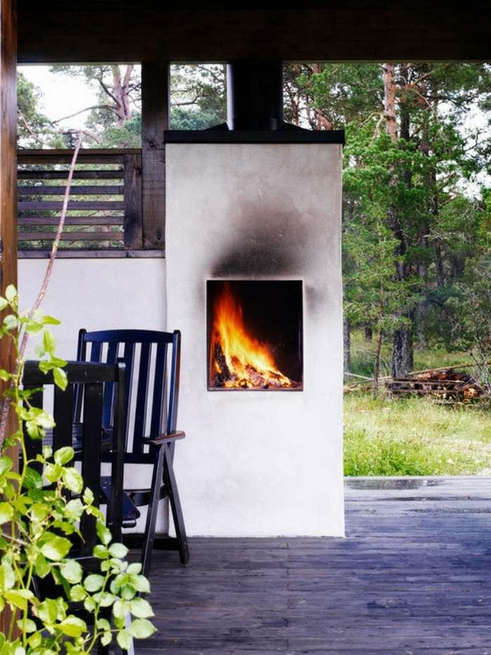 divina cocina chimeneas salas ambientes enredaderas