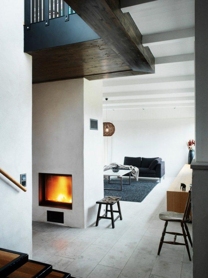 divina cocina exteriores esferas madera chimenea