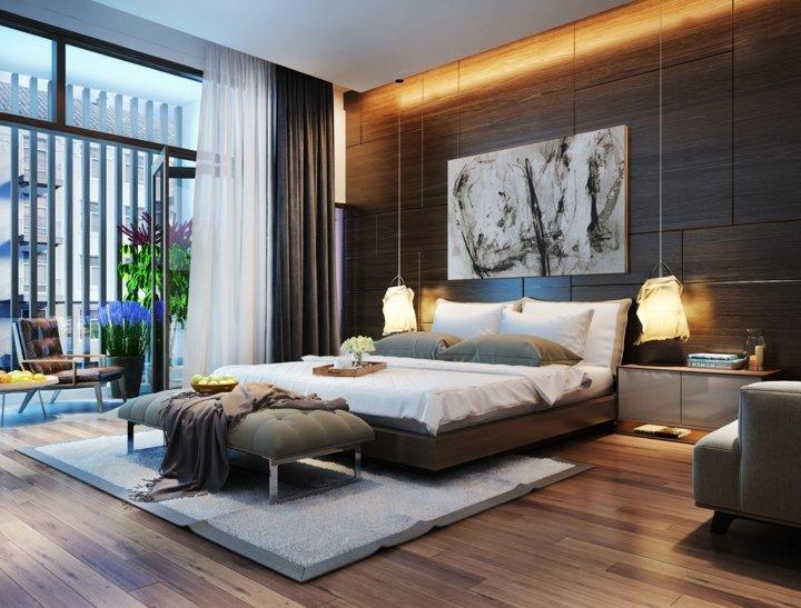 dormitorio iluminacion madera especiale jardines