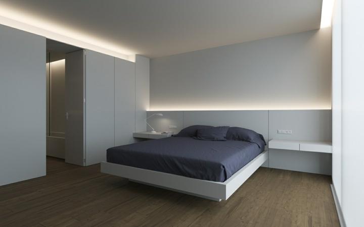 Dormitorio iluminacion creativa para llenarlos de vida - Iluminacion para habitaciones ...