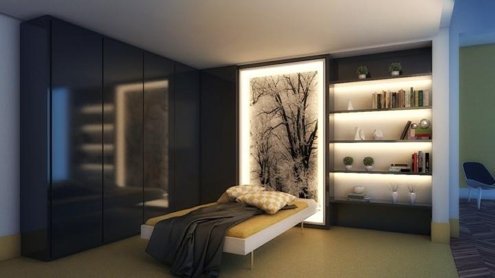 dormitorio iluminacion muebles incorporada armarios