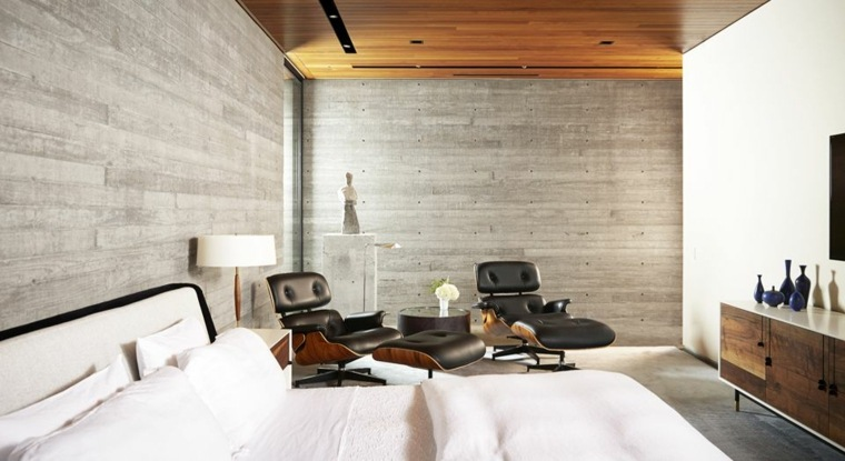 Dormitorios modernos 24 dise os espectaculares for Sillones de dormitorio modernos