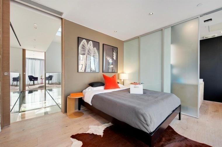 dormitorios modernos alfombra original ideas