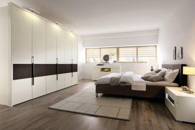 Dormitorios modernos 24 dise os espectaculares - Dormitorios blancos modernos ...