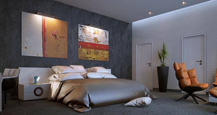 Dormitorios modernos 24 dise os espectaculares - Cuadros espectaculares modernos ...