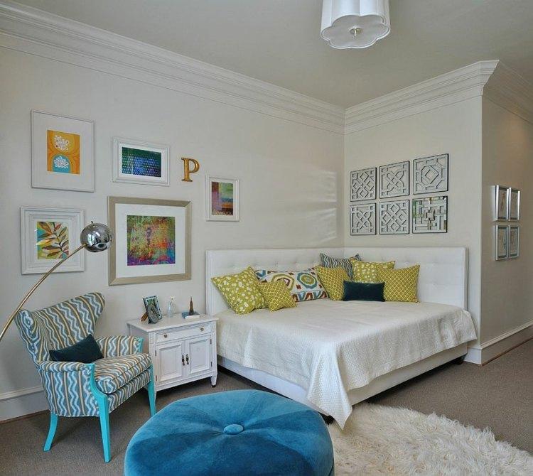 dormitorios tendencias lampara dorado camas fuentes