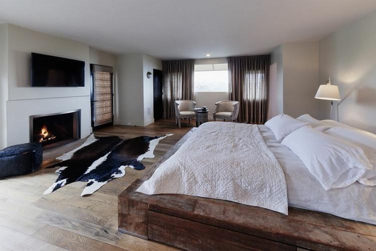 dormitorios tendencias rustico cueros cuero