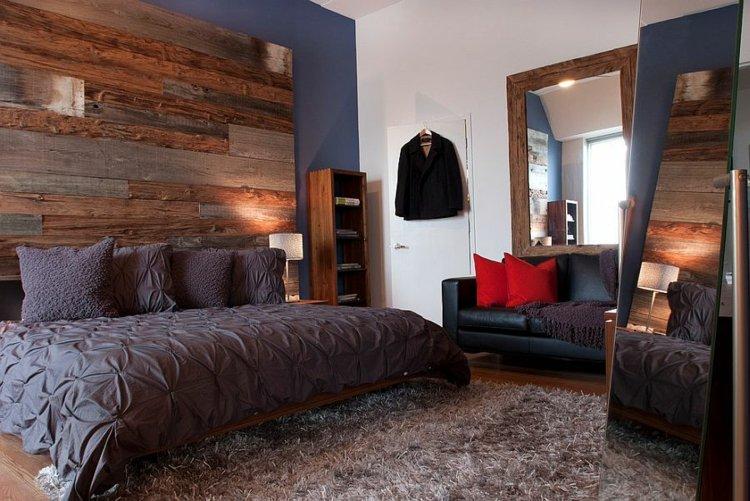 dormitorios tendencias sillones azules grises