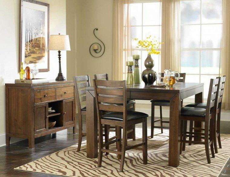 el espacio vintage muebles madera alfombras accesorios
