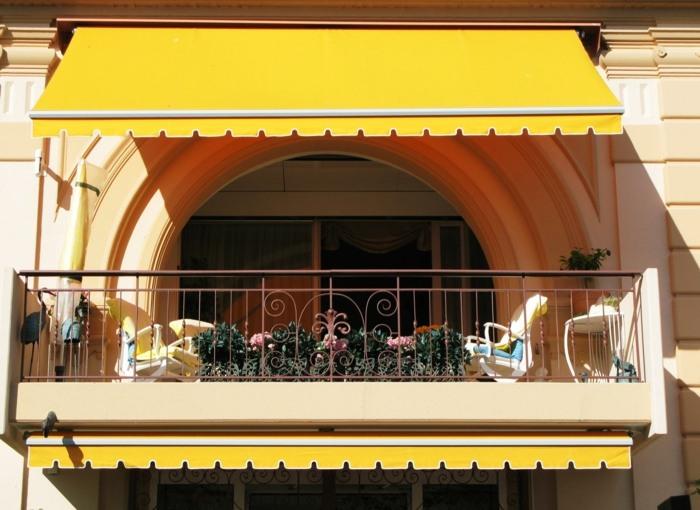 elegantes amarillos conceptos muebles toldo