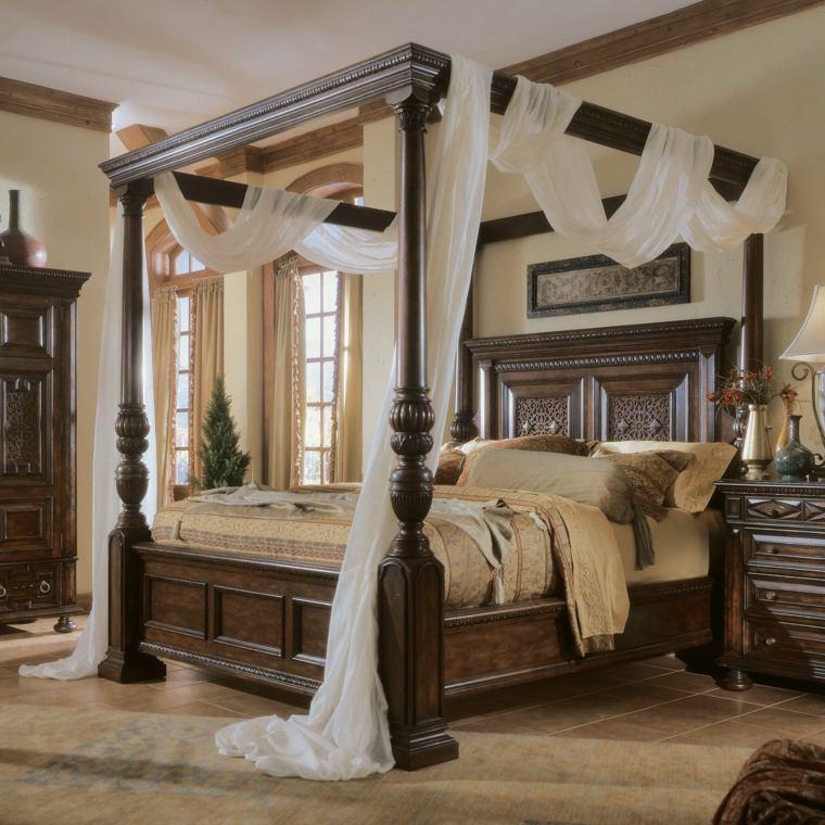elegantes madera salones estilos cortinas