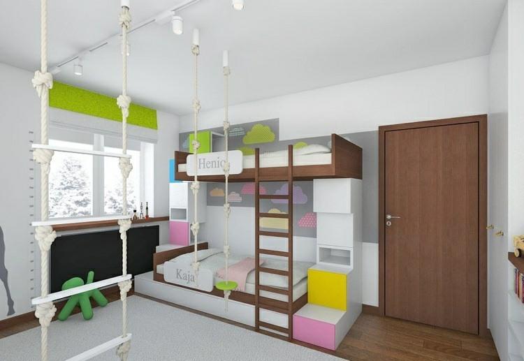 espacio juegos habitacion creativa escaleras