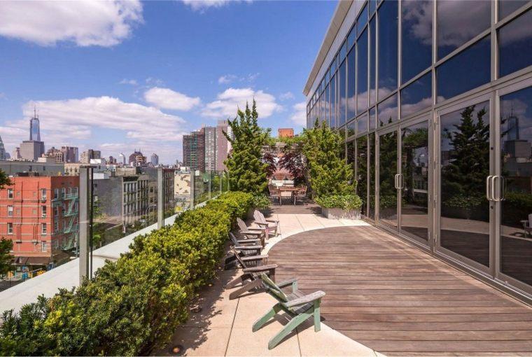 estupenda decoracion terraza moderna