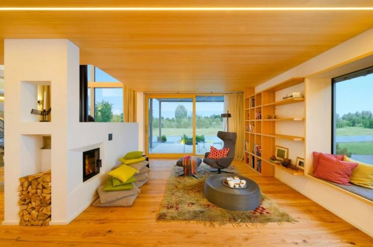 estupendo interior madera natural