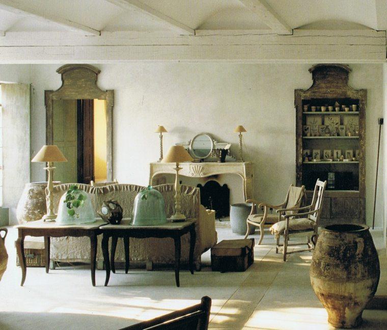 estupenda decoración vintage colonial
