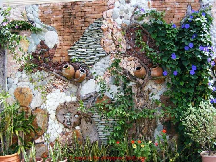 Fachadas y muros exteriores ideas de dise o y decoraci n for Decoracion de jardines y muros exteriores