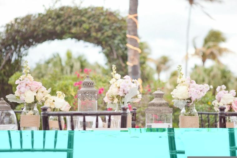 estupenda decoración boda vintage