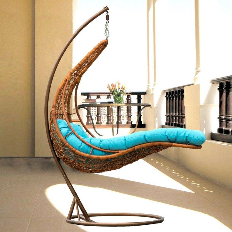 estupendo diseño sillon cama colgante