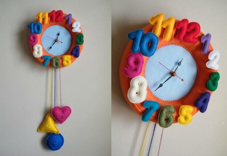 estupendo diseño reloj lana prensada