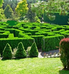 Senderos de piedra para jardines naturales for Jardines lujosos
