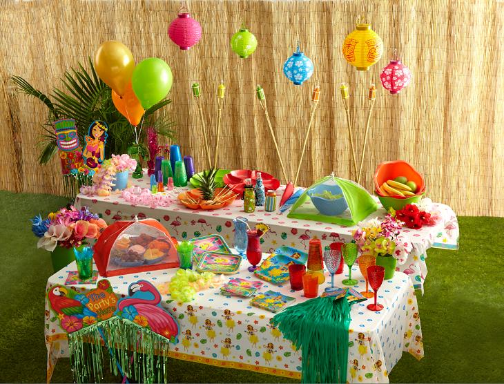 fiesta infantil muro tejidos naturales patios