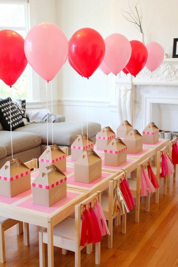 fiestas infantiles decoracion mesa invitados preparada ideas
