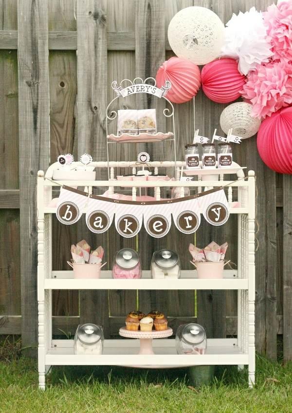 fiestas infantiles opciones decoracion dulceria decoracion papel ideas