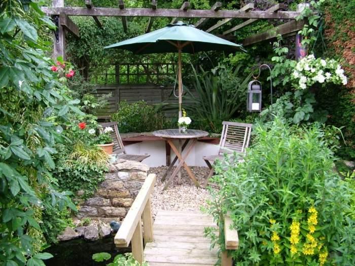 Dise o de jardines ideas para espacios peque os for Jardines pequenos horizontales