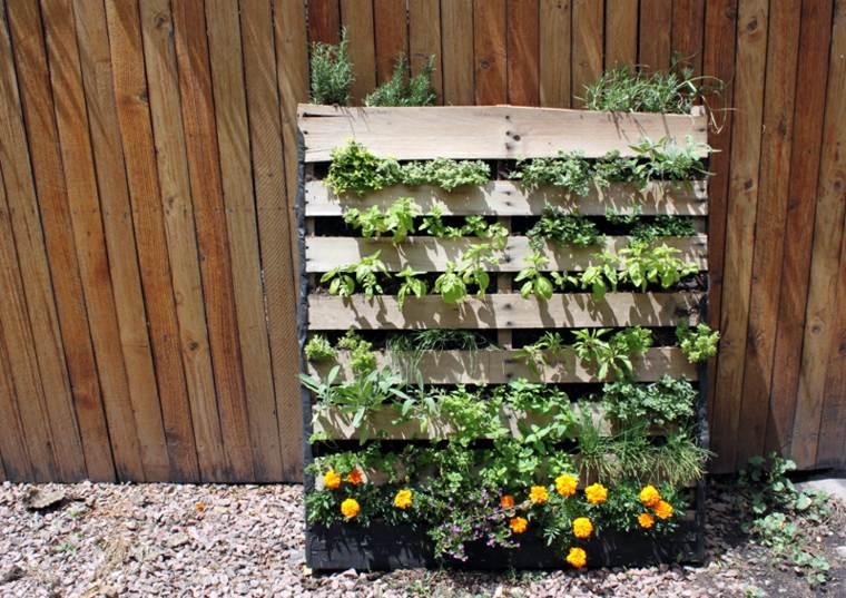 frecuencias conceptos jardineria macetas amarillo