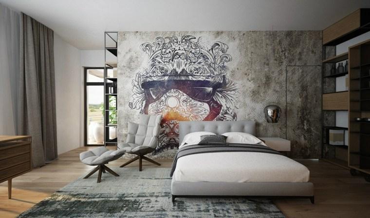 frentes paredes arte mural futurista gafas