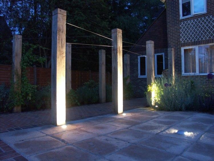 frontales espacios caminos muebles columnas