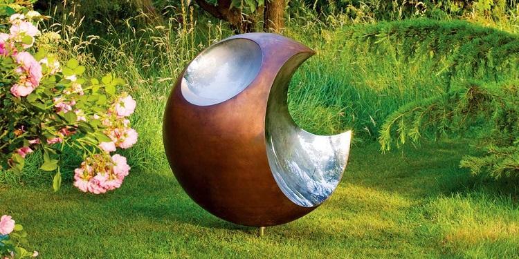 funcionales esculturas jardines flores exteriores