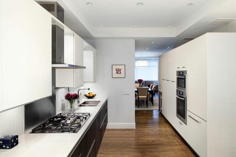 gabinetes cocina modernos minimalistas