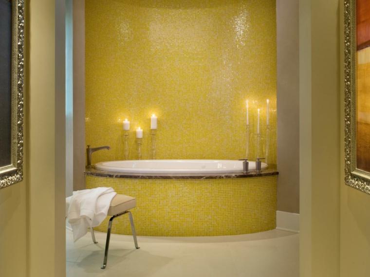 gresite baño amarillo brillante