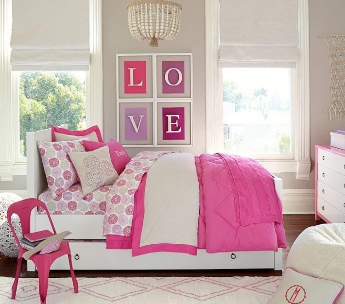 Habitacion ni a e ideas originales para el dise o for Decoracion sencilla habitacion nina