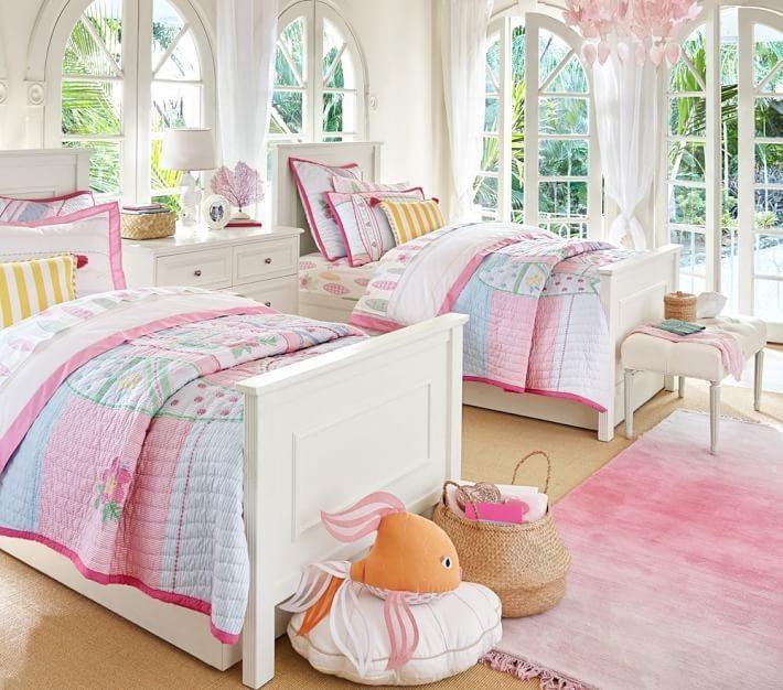 Habitacion ni a e ideas originales para el dise o - Habitaciones con dos camas ...