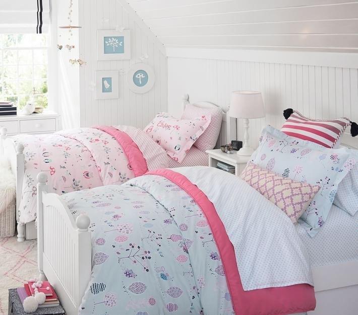 Habitacion ni a e ideas originales para el dise o - Dormitorio para dos ninas ...