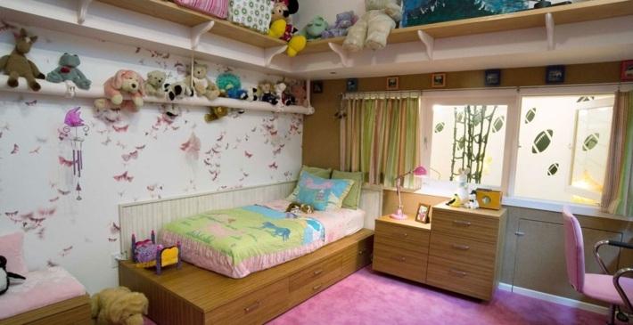 Habitacion ni a e ideas originales para el dise o for Pegatinas habitacion nina