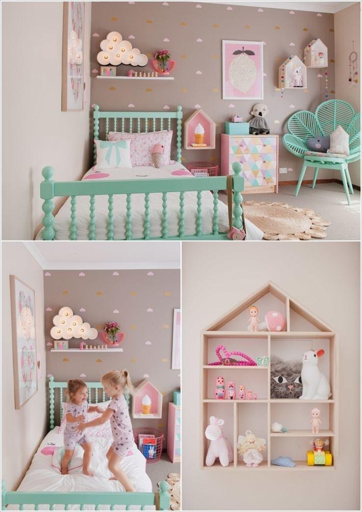 habitacion nia diseno muebles coloridos ideas - Muebles Nina