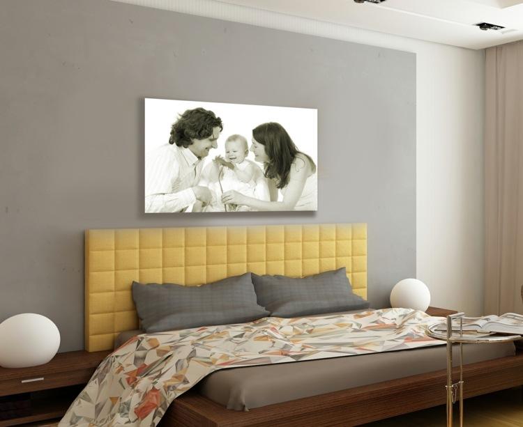 habitacion pequeños cuadros soluciones matrimonial