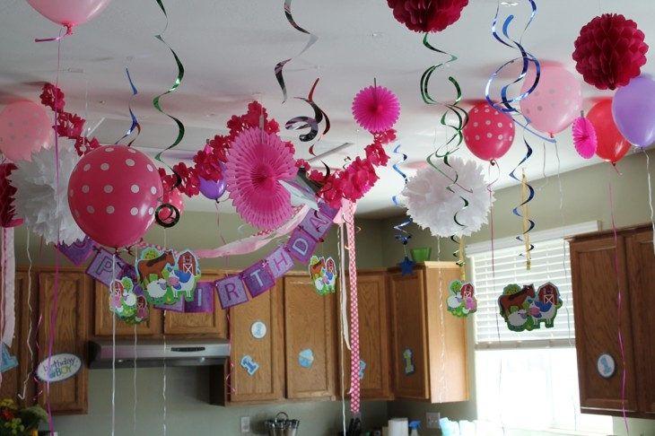 Birthday Party Ideas For Kids At Home