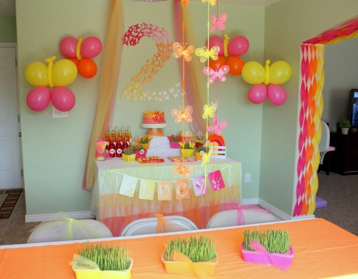 ideas decoracion cumpleaños soluciones estilos plantas