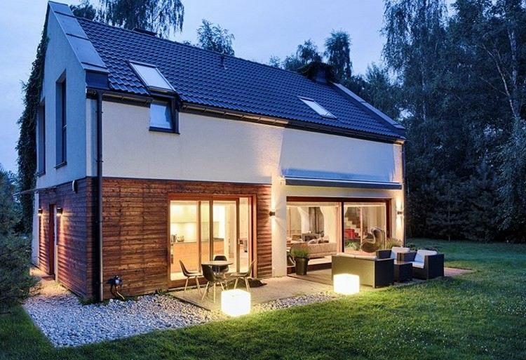 ideas jardin de iluminacion exterior