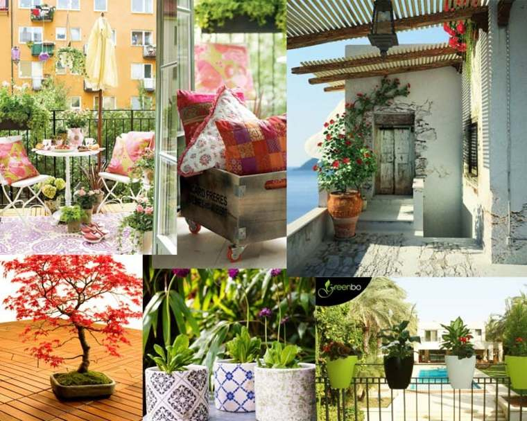 ideas origionales decorar terrazas