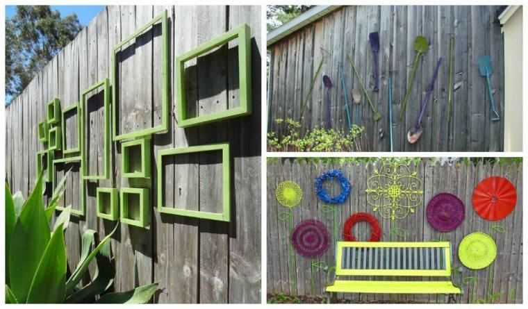 ideas originales decorar vallas