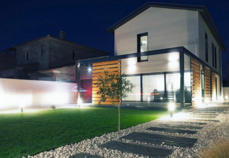 Iluminacion para exteriores jardines recesky guirnalda - Iluminacion jardin solar ...