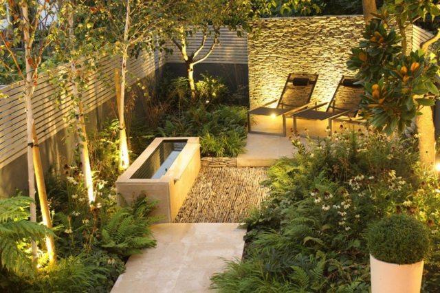 Iluminacion exterior varios consejos a seguir for Focos jardin
